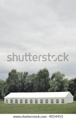 Party Tent - stock photo
