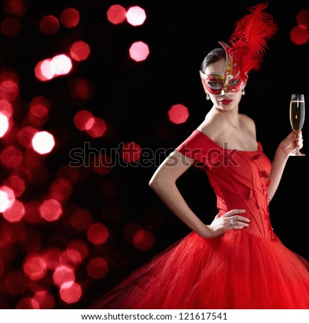 Party time - stock photo