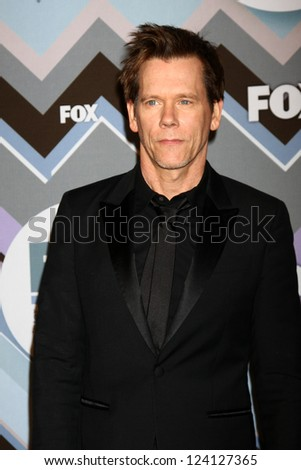 PASADENA, CA - JAN 8:  Kevin Bacon attends the FOX TV 2013 TCA Winter Press Tour at Langham Huntington Hotel on January 8, 2013 in Pasadena, CA - stock photo