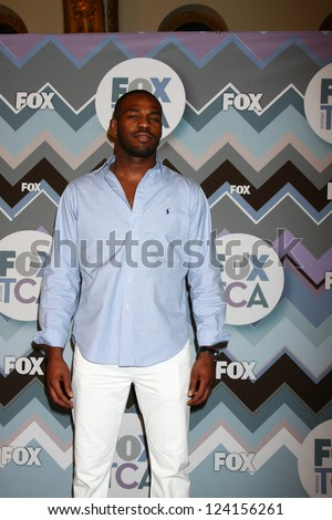 PASADENA, CA - JAN 8:  Lamorne Morris attends the FOX TV 2013 TCA Winter Press Tour at Langham Huntington Hotel on January 8, 2013 in Pasadena, CA - stock photo