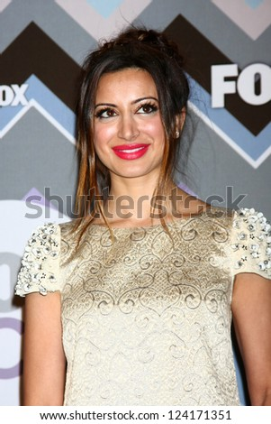 PASADENA, CA  - JAN 8:  Noureen DeWulf attends the FOX TV 2013 TCA Winter Press Tour at Langham Huntington Hotel on January 8, 2013 in Pasadena, CA - stock photo