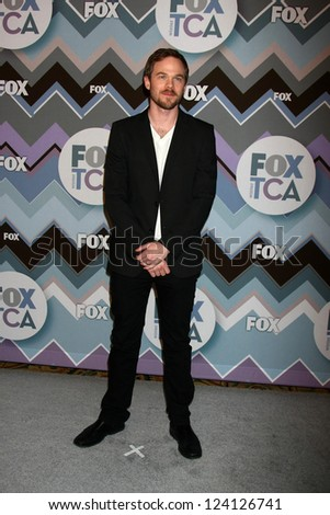 PASADENA, CA - JAN 8:  Shaun Ashmore attends the FOX TV 2013 TCA Winter Press Tour at Langham Huntington Hotel on January 8, 2013 in Pasadena, CA - stock photo