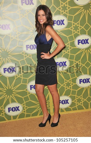 PASADENA, CA - JANUARY 8, 2012: Mercedes Masohn, star of The Finder, at Fox TV's Winter 2012 All-Star Party at Castle Green in Pasadena. January 8, 2012  Pasadena, CA