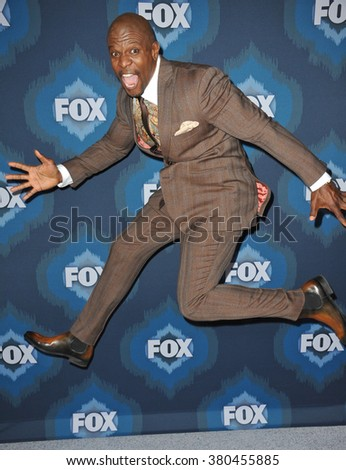PASADENA, CA - JANUARY 17, 2015: Terry Crews at the Fox Winter TCA 2015 All-Star Party at the Langham Huntington Hotel, Pasadena.