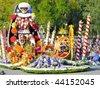 "PASADENA, CA - JANUARY 1: The City of Cerritos ""City of Dreams"" float won the President's Award in the 121st Tournament of Roses Parade on January 1, 2010 in Pasadena, California. - stock photo"