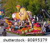 PASADENA, CA - JANUARY 1: The New Mexico float named: Enchantment is in the Air was  exhibited at the Tournament of Roses Parade on January 1, 2010 in Pasadena, California. - stock photo