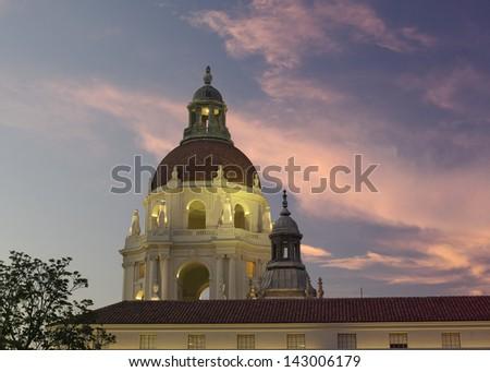 Pasadena City Hall, Pasadena, California, USA. - stock photo
