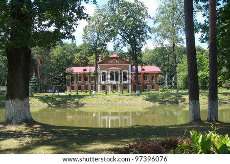 Paskevich's hunting lodge in Korenevka, Belarus