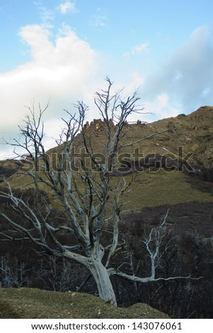 Paso de Cordoba Near Bariloche, Argentina - stock photo