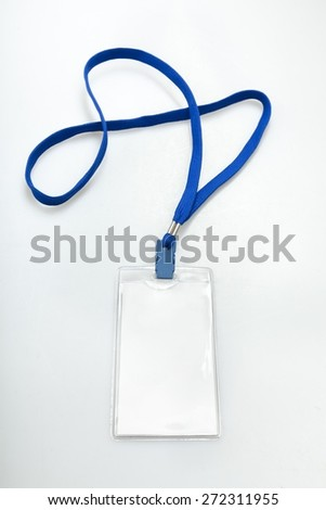 Pass, business, blank. - stock photo