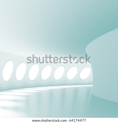 Passage - stock photo