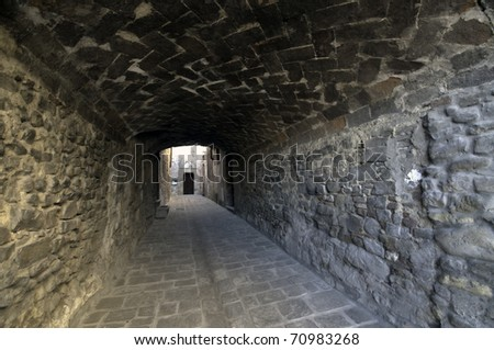 Passage - stock photo