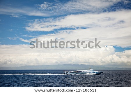 Passenger ferry boat, Philippines