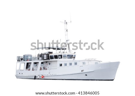 Passenger ship  - stock photo