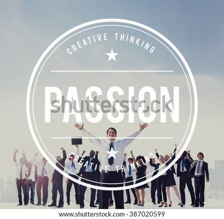 Passion Attraction Emotion Feeling Hate Interest Concept - stock photo