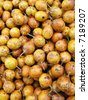 passion fruit at the market - stock photo