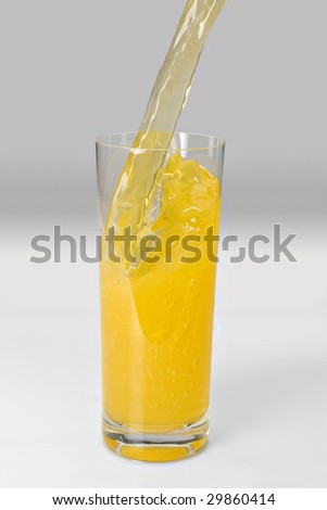 Passion fruit drink - stock photo