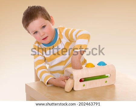 passionate child for interesting occupation,active lifestyle,happiness concept,carefree childhood concept. - stock photo