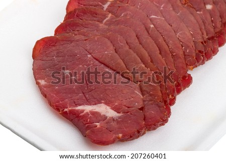 Past���±rma or bastirma or basturma is a highly seasoned, air-dried cured beef of Anatolian origin which is now part of the cuisines of the former Ottoman countries.