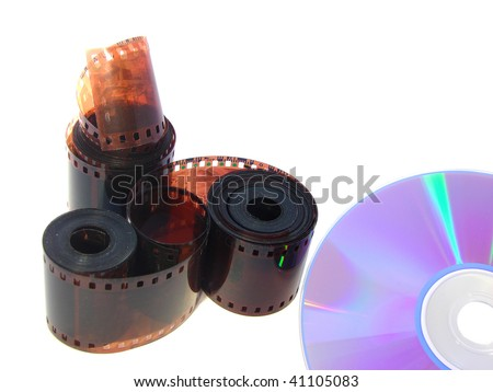 Past was analogs, but future is digital - stock photo