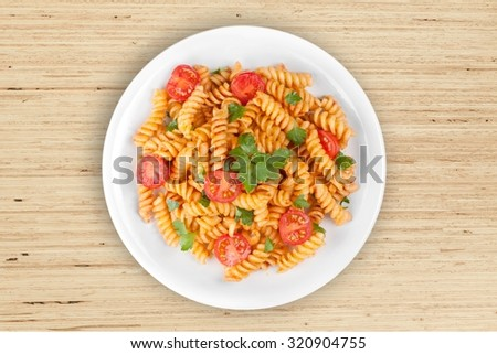 Pasta. - stock photo