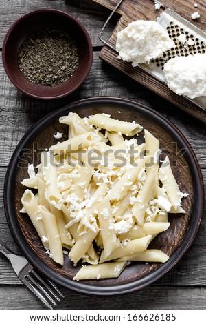 Pasta dish - stock photo