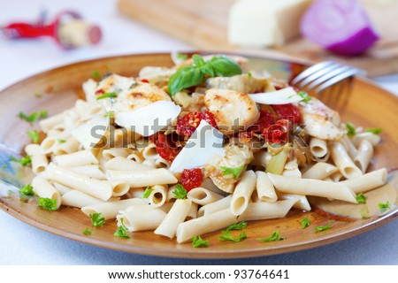 Pasta dish - stock photo