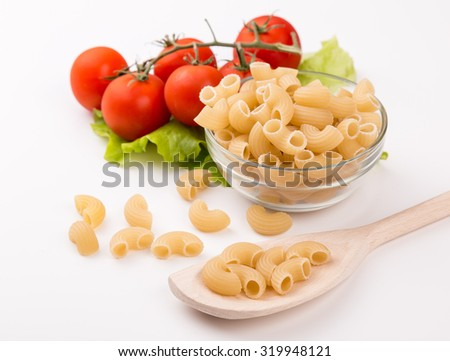Pasta Elbows Traditional Italian food
