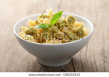 pasta with olive tapenade