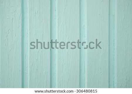 pastel blue color wooden background - stock photo