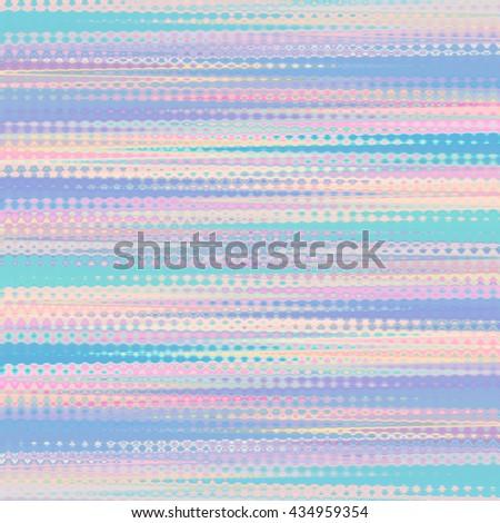 Pastel Coloured Striped Wallpaper