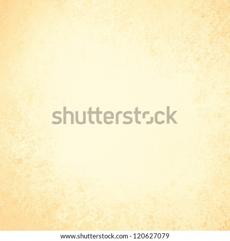 pastel gold background layout design, brochure template backdrop for graphic art use, pale color, vintage grunge background texture for labels, posters, ads or website template yellow background - stock photo