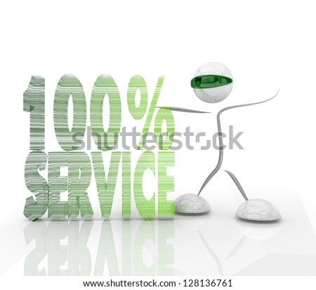 Pastel gray  modern 100% Service futuristic 3d character