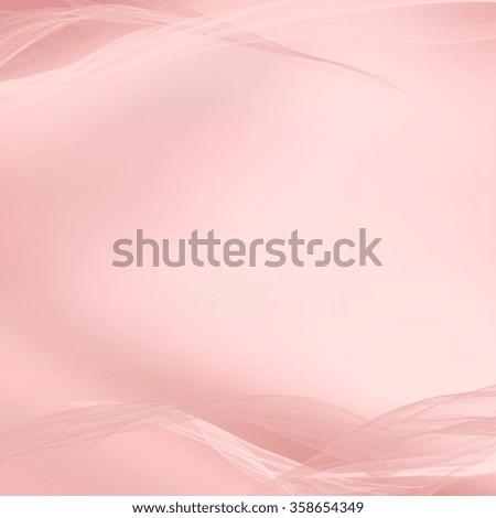 pastel pink background - silk fabric motif - stock photo