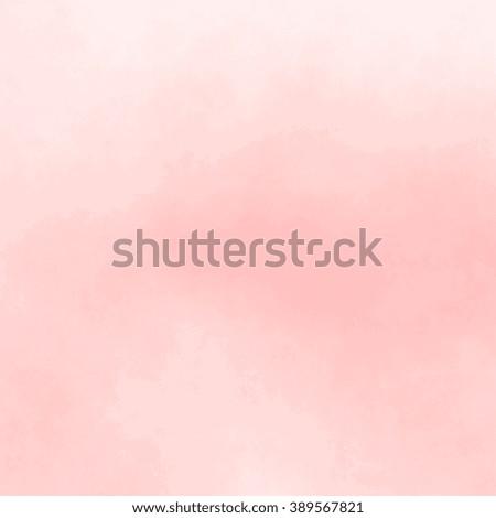 pastel pink background - subtle watercolor pattern - stock photo