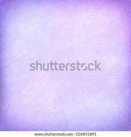 pastel purple background with vignette border and vintage texture - stock photo