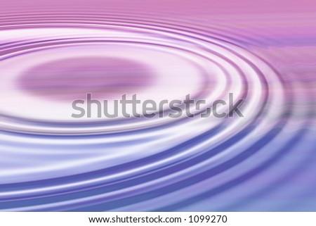 Pastel ripple - stock photo