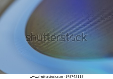 Pastel Shining Wafer - stock photo