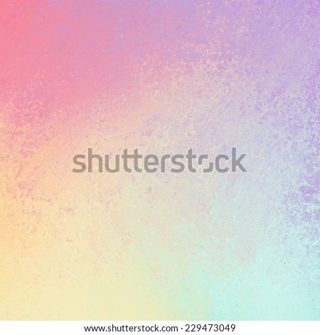 pastel spring color background with sponged texture design - stock photo