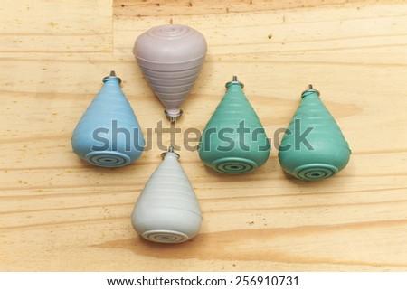 Pastel Tops - stock photo