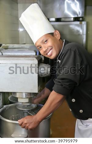 pastry chef - stock photo
