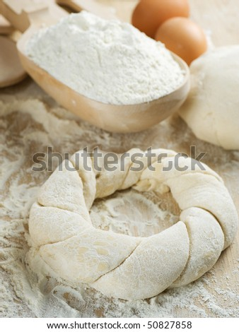 Pastry cooking. - stock photo
