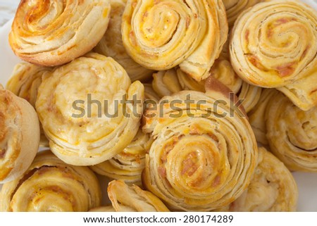 Pastry With Cheese - stock photo