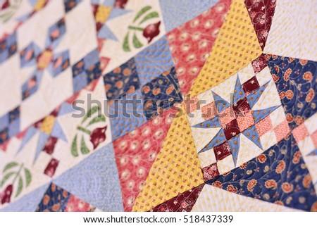 Patchwork Quilt Part Patchwork Quilt Background Stock Photo ... : patchwork quilt blanket - Adamdwight.com