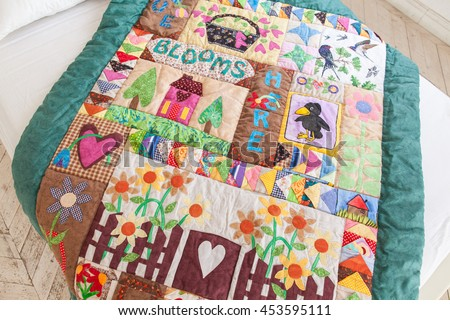 Patchwork Quilt Stock Images, Royalty-Free Images & Vectors ... : patchwork quilt handmade - Adamdwight.com