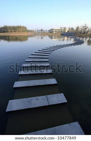 path - stock photo