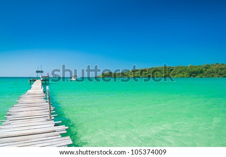 Path filled with Love Way to Yourself - stock photo