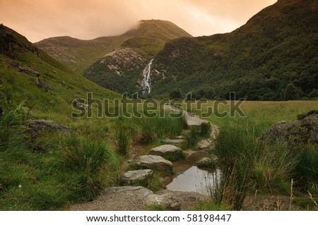 path in highlands