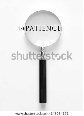 Patience - stock photo