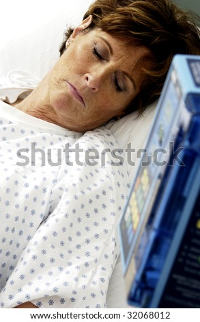 Patient - stock photo